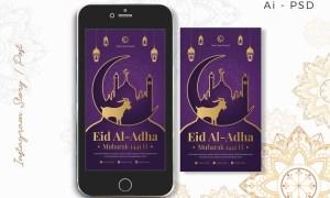 Instagram Story EID al-Adha Mubarak 9ZYPU4N
