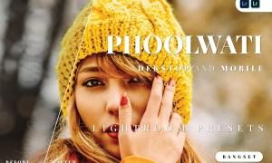 Phoolwati Desktop and Mobile Lightroom Preset