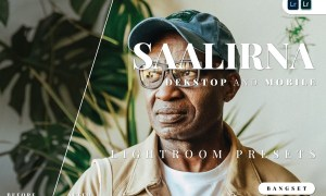 Saalirna Desktop and Mobile Lightroom Preset