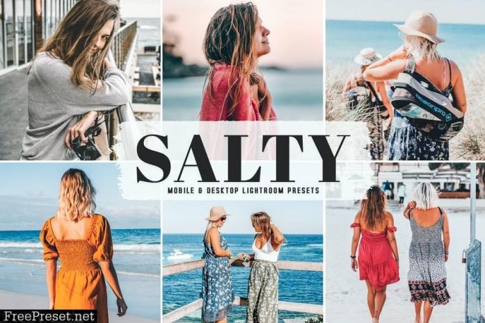 Salty Mobile & Desktop Lightroom Presets