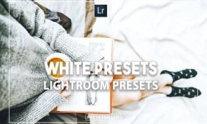 White lightroom presets