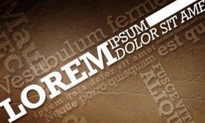 Lorem Ipsum, texto falso para probar tus diseños