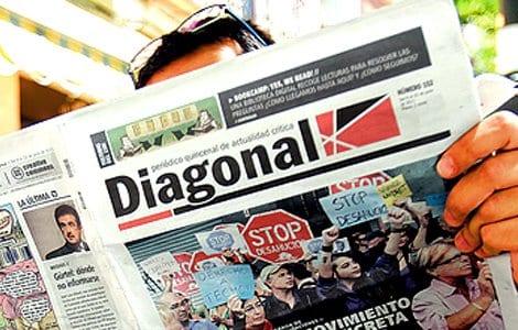 Séptimo aniversario del periódico Diagonal