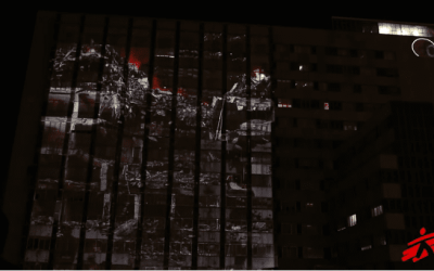 Campañas impactantes: el bombardeo simulado de MSF en el Hospital de La Paz