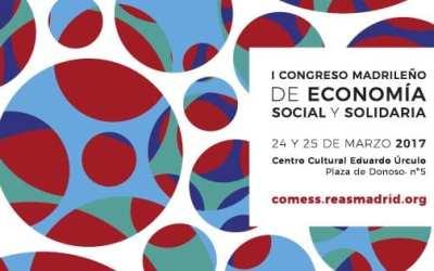 Nos vamos al I Congreso Madrileño de Economía Social y Solidaria
