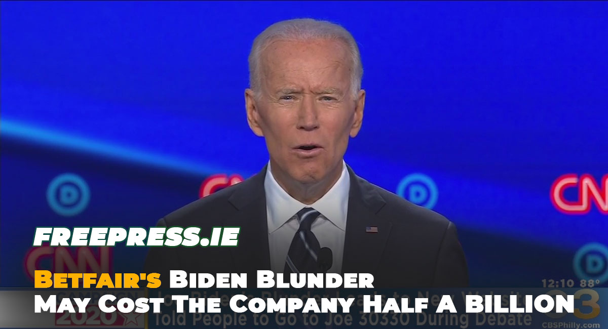 Betfairs-Biden-Blunder-Will-Cost-Company-Half-A-BILLION