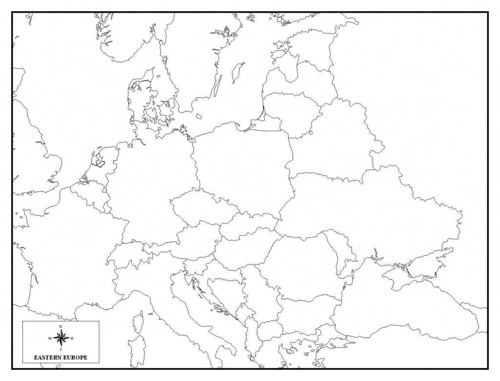 Europe Map Quiz Printable