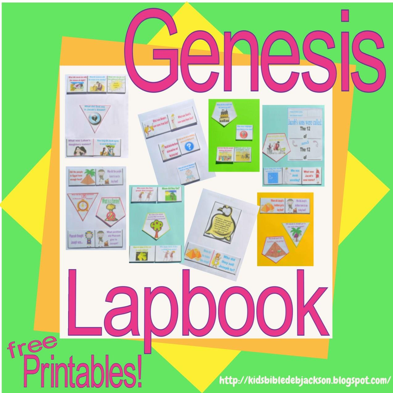 Free Printable Bible Study Lessons Genesis