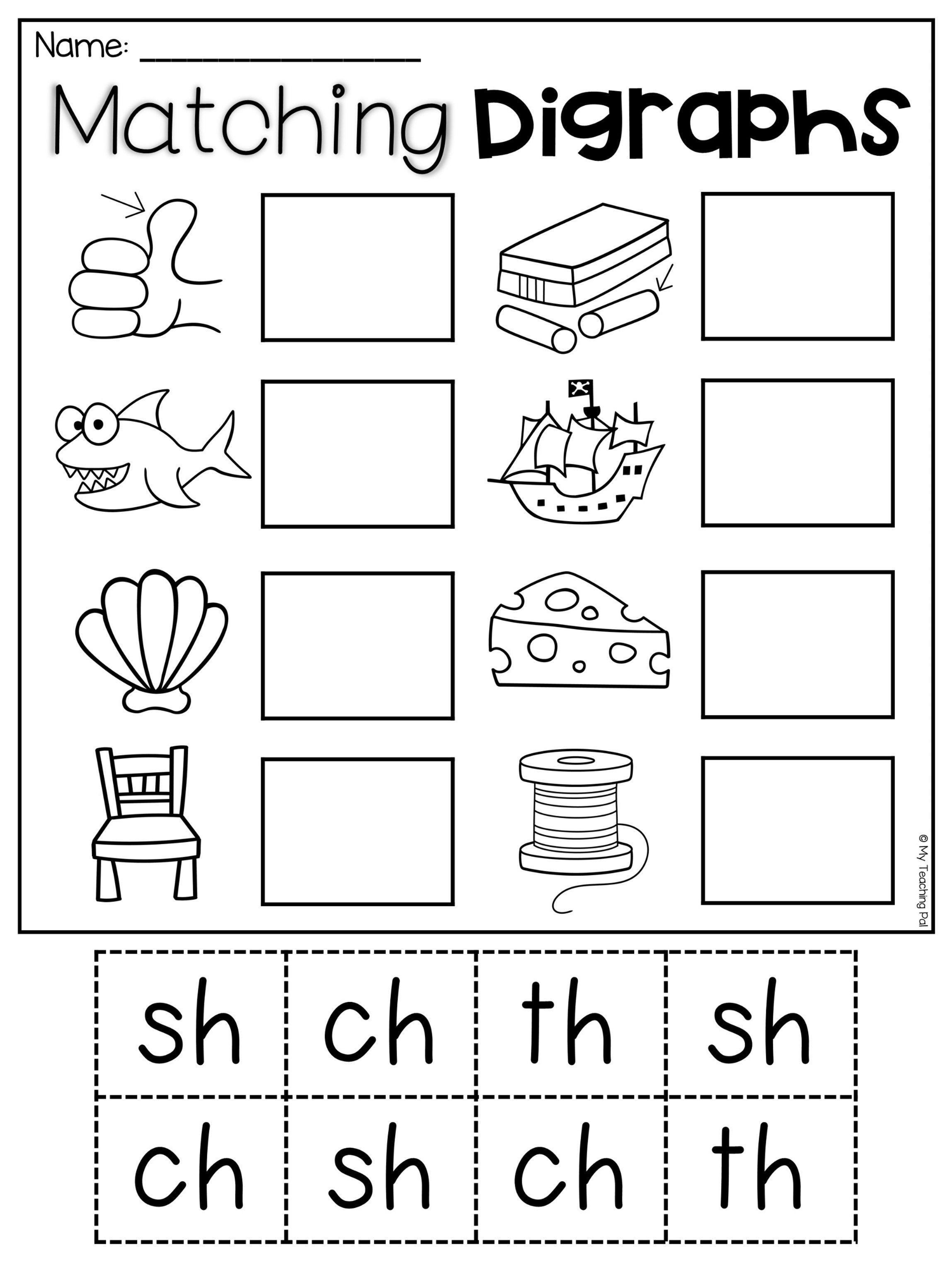 Sh Worksheets Free Printable