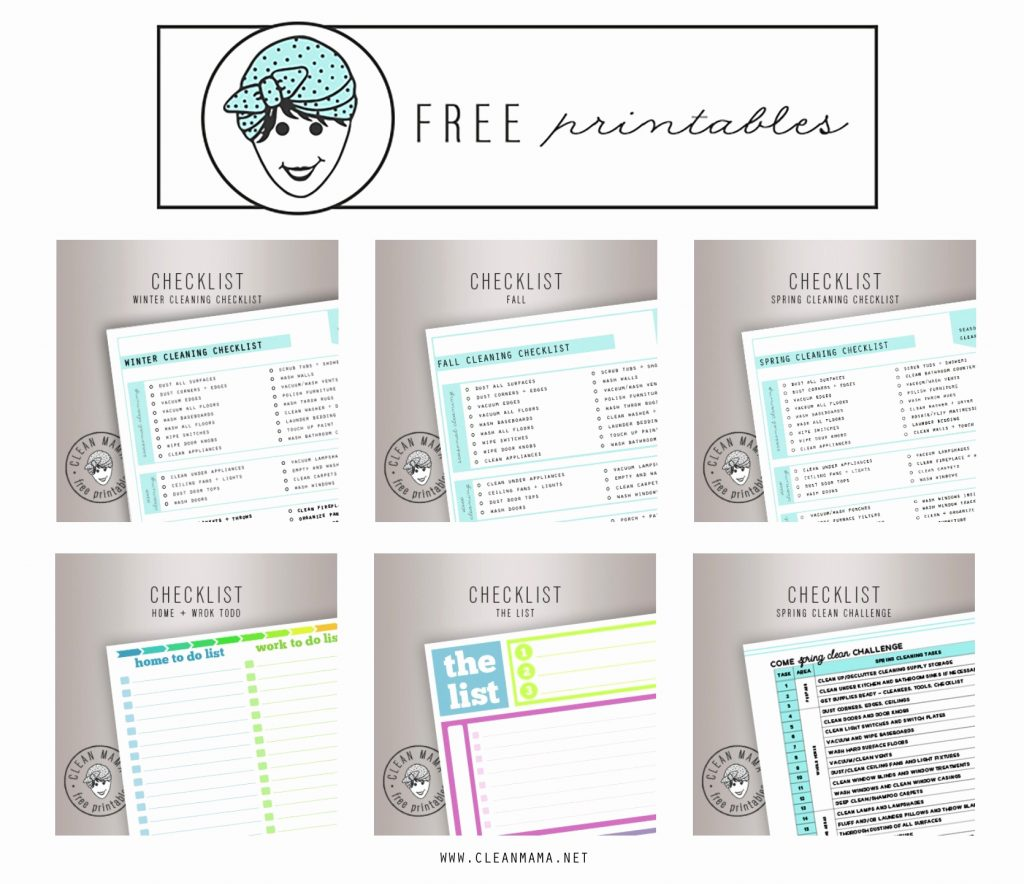 Free Printable Home Organization Worksheets 78 Images In