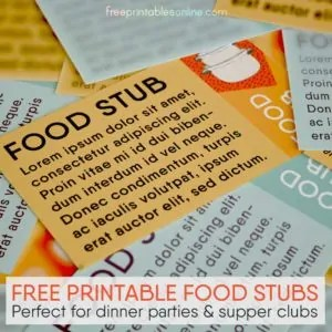 Printable Tickets And Coupons Archives Free Printables