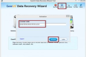 EASEUS Data Recovery Wizard Professional Crack 13.3 + License Key