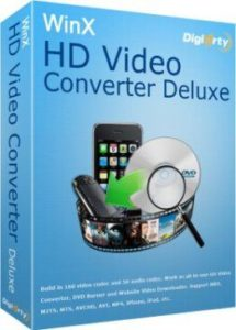WinX HD Video Converter Deluxe Serial key With Crack