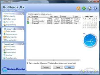 RollBack Rx Pro Full Crack + License Key