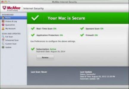McAfee LiveSafe Crack license key