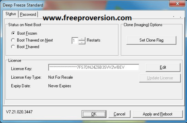 Deep Freeze Standard 8.38 Crack+ Full Version Free Download