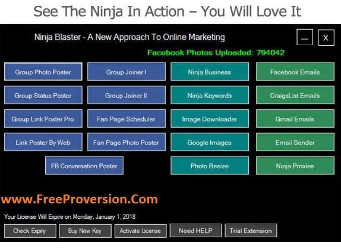 Ninja Blaster 2017 Crack Plus Serial key free download