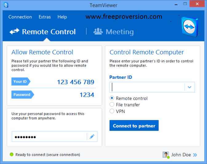 Teamviewer 13 Crack with License Key [Win + Mac]
