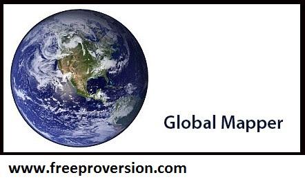 Global Mapper 22 Crack + License Key Full Torrent Download (2021)