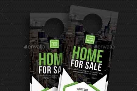Real Estate Door Hanger 22642146 Freepsdvn