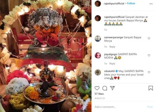 Rajesh Puri's Instagram Post