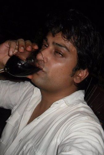 Ronnit Biswas Drinking Alcohol