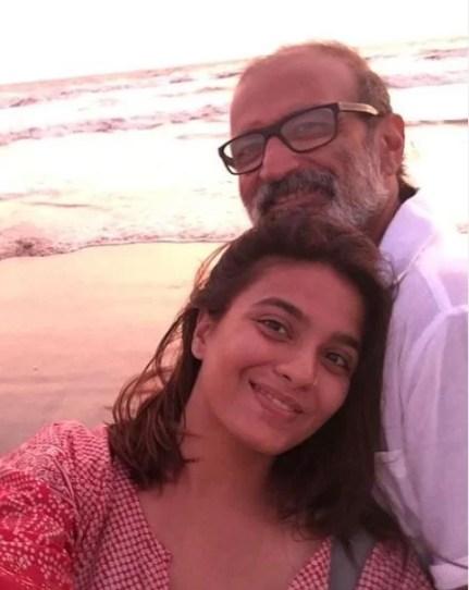 Bhavna Ruparel with her husband