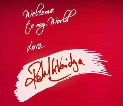 Rahul Vaidya's Signature