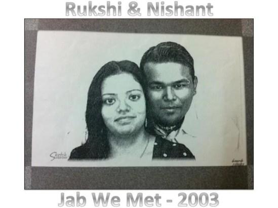 Nishant and Rukshi
