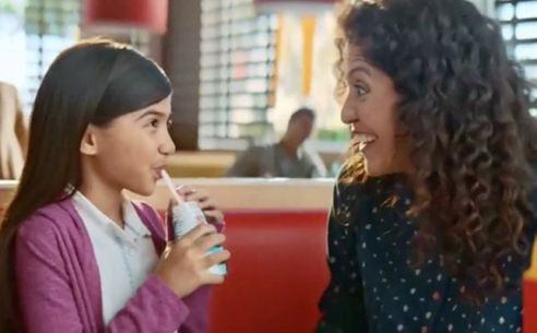 Madison Taylor Baez in an Advertisement for McDonald's