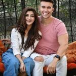 Zoya Nasir with her boyfriend