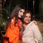 Zoya Nasir with her mother