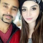Zoya Nasir with her brother Jani Nasir