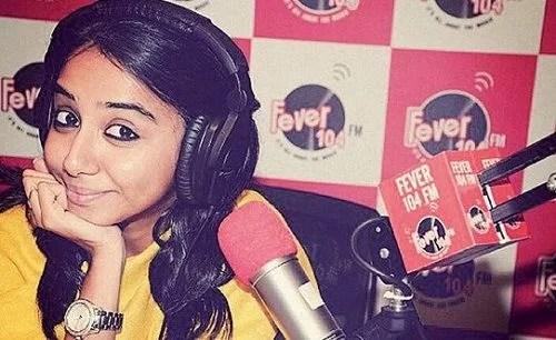Prajakta Koli as a Radio Jockey