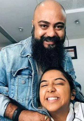 Prajakta Koli With Sudeep