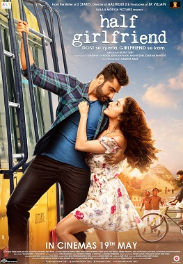 Half Girlfriend Film Poster