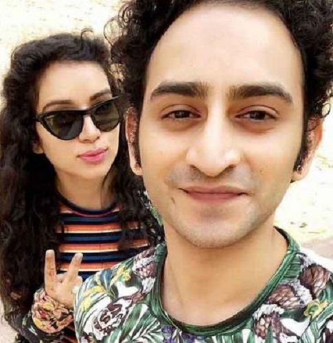 Sukirti Kandpal with her Brother