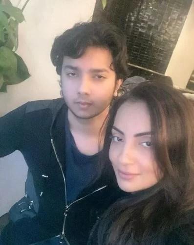 Seema Khan with Nirvaan