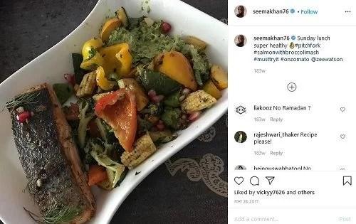 Seema Khan's Instagram Post