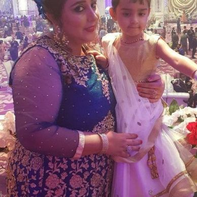 Mannat Murgai with her Mother