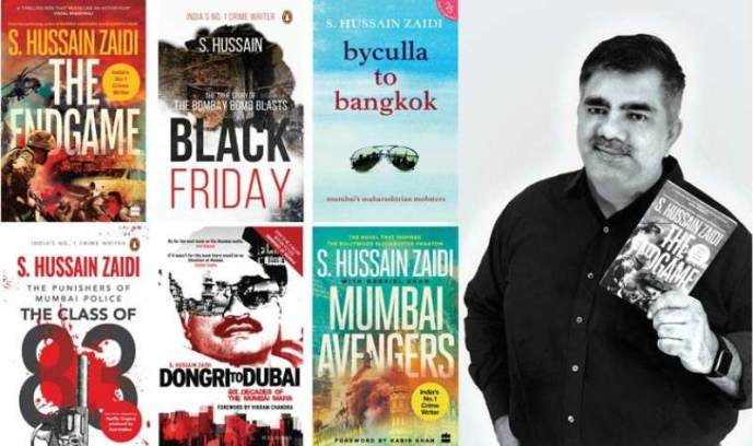Hussain Zaidi's published books