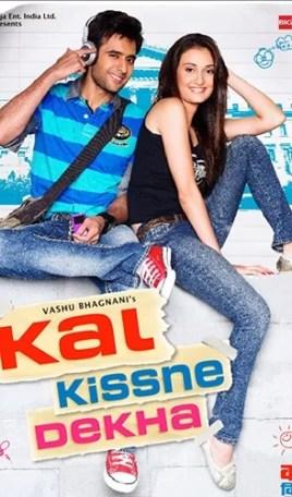 Movie poster of 'Kal Kissne Dekha'
