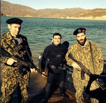 Dan Bilzerian During his Navy Days