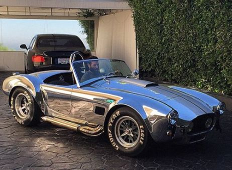 Dan Bilzerian in his 1965 Shelby Cobra 427