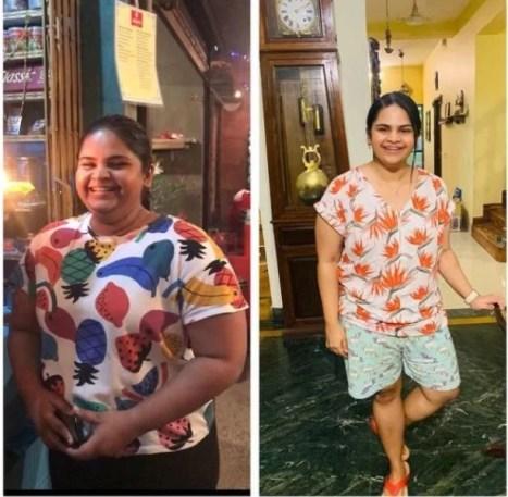 Vidyullekha Raman weight transformation