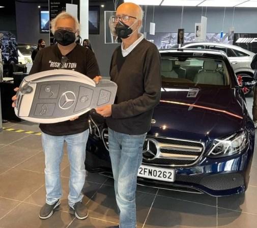 Hansal Mehta buying his car