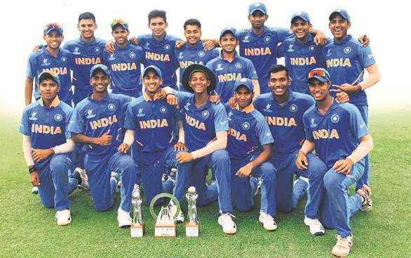 India's U-19 cricket team for the ICC U-19 Cricket World Cup 2020