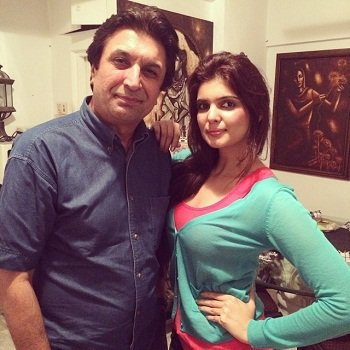 Ihana Dhillon with her brother