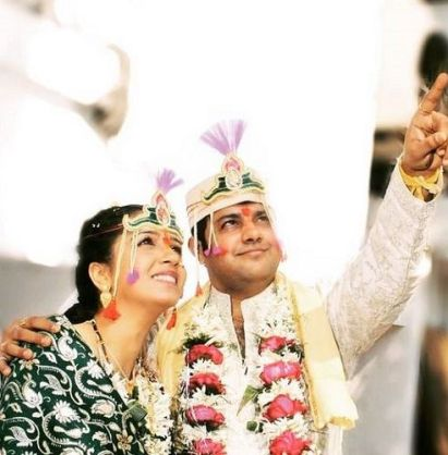Snehlata Vasaikar's wedding photo