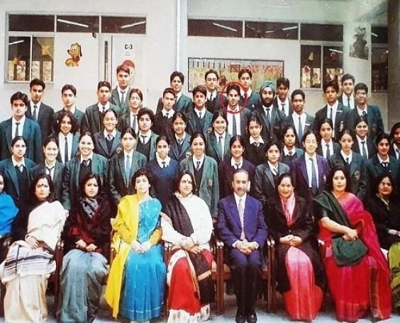 Karan Veer Mehra's school photograph